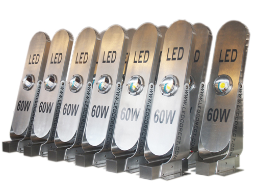 LED street lighting fixtures