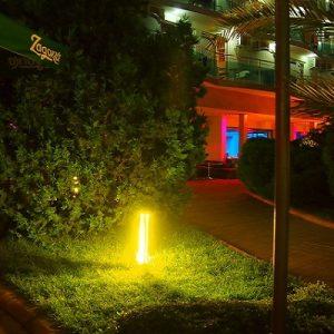 Bamboo градински осветител