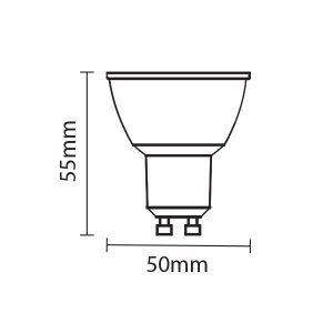 LED димируема крушка
