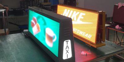 LED екран TAXI
