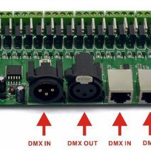 DMX512 декодер